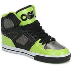 Osiris shoes! My bro has those!