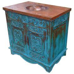 Belleza 2 Vanity | Jorge Kurczyn Spanish Colonial Furniture