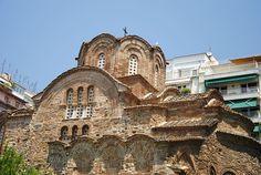 Church of Agios Panteleimon, late byzantine period, Thessaloniki, Greece
