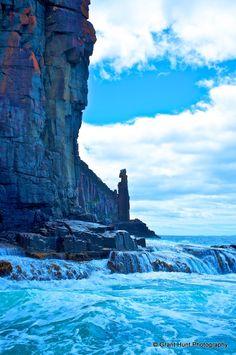- The Sentinal, Bruny Island Adventures, Tasmania Tasmania Hobart, Bruny Island, Blue Colors, Tower Bridge, How To Take Photos, East Coast, Holiday Ideas, Places To Go, Australia