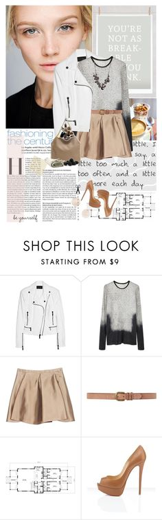 """""""life is about the people you meet and the things you create with them"""" by hug-voldemort ❤ liked on Polyvore featuring 3.1 Phillip Lim, Karl Lagerfeld, Proenza Schouler, Balenciaga, Dorothy Perkins, STELLA McCARTNEY, bib necklaces, platform heels, mini skirts and top handle bags"""