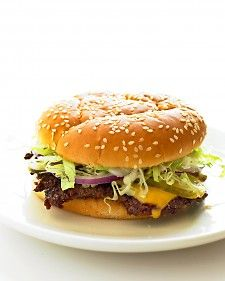 Old-Fashioned Cheeseburgers. These are the best made at home burgers I have ever tasted! http://www.marthastewart.com/337695/old-fashioned-cheeseburgers