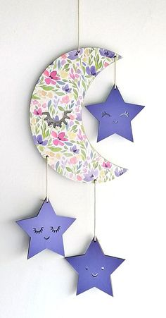 Eid Crafts, Diy Crafts For Home Decor, Ramadan Crafts, Ramadan Decorations, Diy Arts And Crafts, Craft Stick Crafts, Creative Crafts, Diy Wall Art, Diy Wall Decor