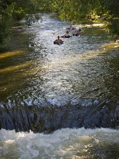 tubing in boulder creek