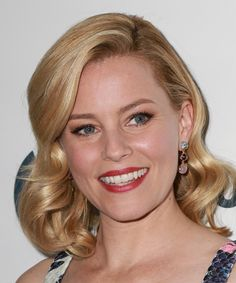 Elizabeth Banks Hairstyle - Medium Wavy Formal -