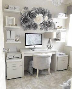 Cute Bedroom Decor, Bedroom Decor For Teen Girls, Room Design Bedroom, Room Ideas Bedroom, Pinterest Room Decor, Beauty Room Decor, Study Room Decor, Home Office Decor, Home Decor