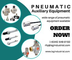 Whether you are looking for sensor switch, vacuum pump, PU tubes, coupler, silencer, valves and any other auxiliary equipment, @lsgindustrial got you covered. We have thousands of pre-order pneumatic supplies available. Contact us for inquiries!  -- #Pneumatic #Automation #Industrial #Engineering #LSG #Clark #Pampanga #Laguna #AngelesCity #SupportLocal #ShopLocal