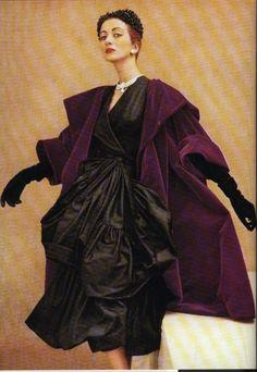 Balenciaga ensemble  ~ Photographer Henry Clarke ~ Vogue 1951   #AnastasiaBeverlyHills