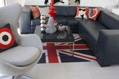 You better believe my future dream home will be replete with British themed items. #Anglophile