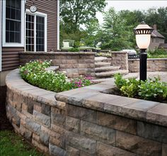 Bel Air Retaining Wall by Belgard