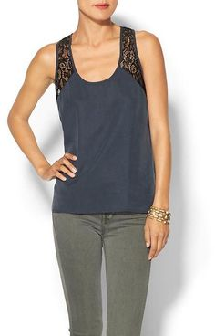 Piperlime Collection Racerback Lace Tank