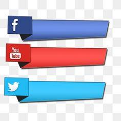 Banner Do Youtube, Youtube Banner Design, Instagram Logo, Instagram And Snapchat, Social Media Banner, Social Media Icons, Twitter Icon Png, Youtube Logo, Youtube Youtube