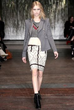 Altuzarra Fall 2012 Ready-to-Wear Fashion Show - Josephine Skriver