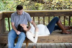 Maternity photo shoot with my husband