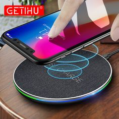 Cheap wireless charger, Buy Quality wirless charger directly from China wireless charger Suppliers: GETIHU Qi Wireless Charger Fast For iPhone 8 Plus X Wireless Charging Pad For Samsung Note 8 QC Wirless Charger for Phone Buy Iphone, Iphone 8 Plus, Samsung S8 Note, Google Phones, Apple Brand, Cheap Iphones, Wireless Charging Pad, Cell Phone Accessories, Usb