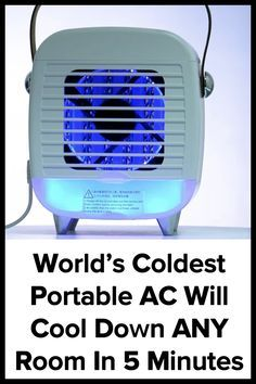Genius Portable Ac Lets You Cool Down Any Room In Your Home In Under 5 Minutes And Costs Less Than Running You In 2021 Portable Ac Home Cleaning Remedies Van Life Diy