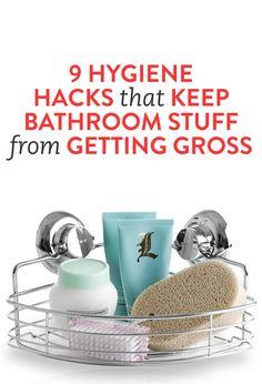 9 Hygiene Hacks That Keep Bathroom Stuff From Getting Gross