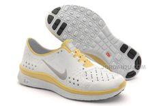 Nike Free 9 Olympic For Women Platinum/Yellow