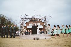 The Lovely Find wedding feature -- Thistle Springs Ranch Wedding by Allison Harp Photography