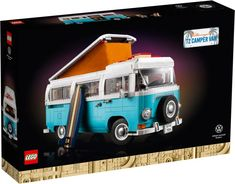 The Lego Car Blog | The Best LEGO Cars on the Web! | LEGO News, Reviews & MOCs | Cars, Trucks, Sci-Fi, Aircraft & More Lego Bus, Lego Camper, Camper Van, Lego Creator, The Creator, Old Lego Sets, Car Volkswagen, Lego Group, Group Of Companies