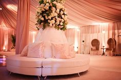 Wedding After Party tented lounge. As seen in @InsideWeddings