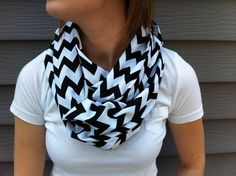 Chevron Infinity Scarf. Love this!