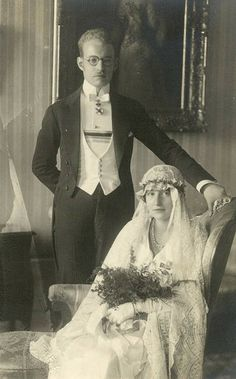 Prince Ludwig Philipp of Thurn & Taxis and his bride Elisabeth Princess of Luxemburg