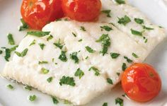 Baked White Fish in Wine and Herbs