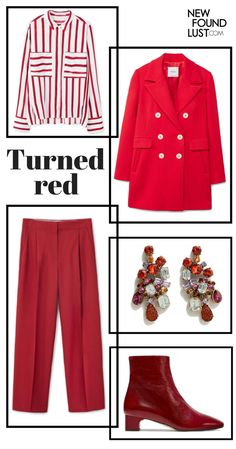 How to wear #red #ootd #newfoundlust #outfits