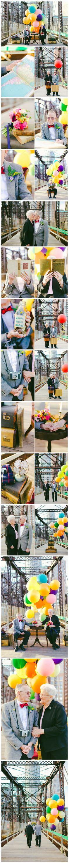 "Adorable!   Geeky Couple Celebrate 61st Wedding Anniversary, Take Pixar ""Up"" Inspired Photos - TechEBlog"