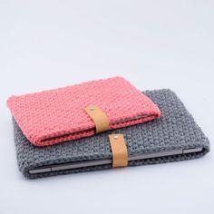 Crocheted iPad Sleeve Patterns Hobbii