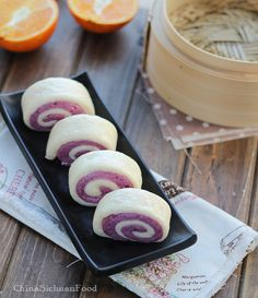 Purple Sweet potato buns|ChinaSichuanFood