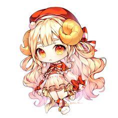 Chibi Kawaii, Anime Girl Neko, Cute Anime Chibi, Chibi Girl, Anime Girl Cute, Kawaii Art, Manga Anime, Anime Art, Anime Drawing Styles