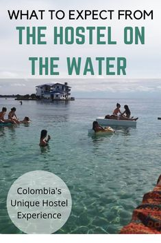How does a peaceful, isolated paradise in the middle of the ocean sound to you? If it sounds like your place to be than you should stay at Casa En El Agua - an overwater hostel off the coast of Colombia! Backpacking South America, Backpacking Europe, South America Travel, South America Destinations, Travel Destinations, Travel Couple, Family Travel, Colombia Travel, Ocean Sounds