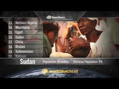 Each year, Open Doors releases the World Watch List. Check out this 2012 summary and be sure to visit the website to learn more www.worldwatchlist.us #worldwatchlist
