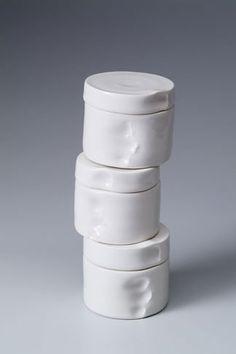 Tactile ceramics by Marie Torbensdatter Hermann