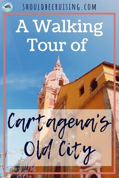 On our cruise of the Panama Canal, we stopped in the beautiful South American port of Cartagena, Colombia and took a walking tour of the Old City. Cruise Port, Cruise Tips, Cruise Travel, Cruise Vacation, Panama Cruise, Overseas Travel, Machu Picchu, Bolivia, Ecuador