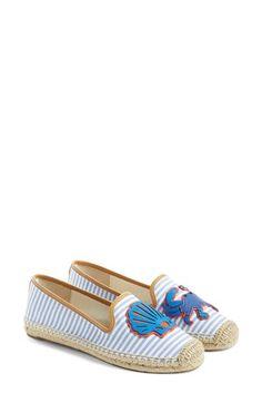 TORY BURCH 'Crab' Espadrille Flat (Women). #toryburch #shoes #flats