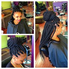 Jumbo braids for @dmarieloves ! ❤️