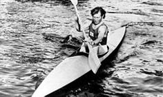 Sylvi Saimo (November 12, 1914, Jaakkima – March 12, 2004, Laukaa), Finnish sprint canoer who competed in the late 1940s and early 1950s. Competing in two Summer Olympics, she won a gold medal in the K-1 500 m event at Helsinki in 1952. -  http://en.wikipedia.org/wiki/Sylvi_Saimo