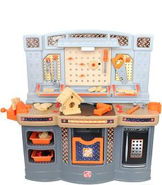 8ada4e680 The Home Depot Big Builders Workshop Playset - Toys R Us - Toys