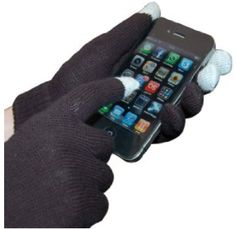 Need a teacher gift of small stocking stuffer? These smartphone touch gloves are pretty cool!
