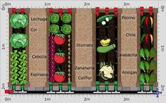Garden Plan - 2015: Jardinera Planta Baja