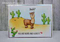 Llama Tell You!  Gerda Steiner Designs  Card by DaisyJaynesDesigns