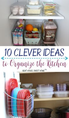 Check These 10 Clever Ideas To Organize The Kitchen And Say Goodbye To  Cluttered Counters And