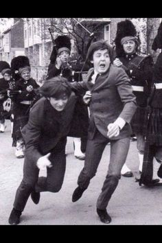 I wonder what their running from?  -Paul McCartney