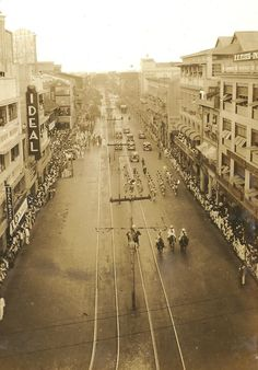 "The Philippines: ""Then and Now"" Photos - Compiled Threads Pardon me if this site has been posted already. Vintage Pictures, Old Pictures, Interesting Photos, Cool Photos, Then And Now Photos, Filipiniana, Manila Philippines, Back In Time, Pictures To Paint"