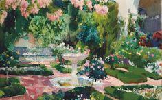 Modern Garden at the Royal Academy, London