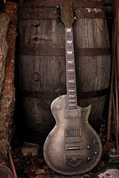 Iron Top Guitar from Hutchinson Guitars