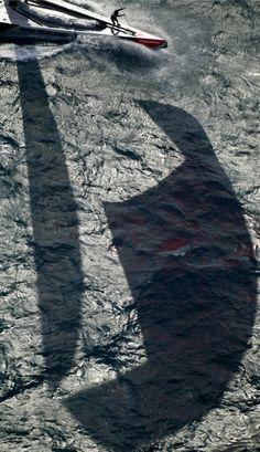 Amazing shadow shot! Photo:Carlo Borlenghi